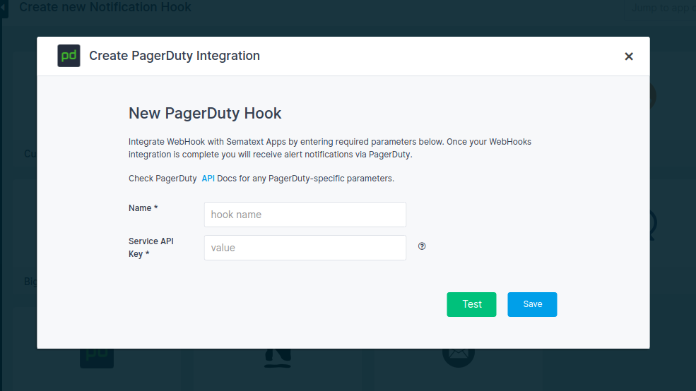 PagerDuty Alerts Integration