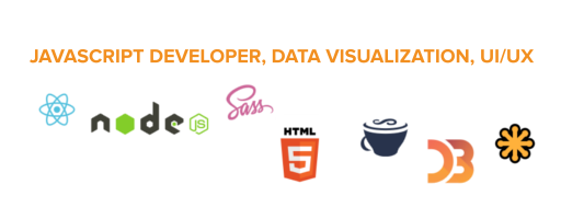 JAVASCRIPT DEVELOPER, DATA VISUALIZATION, UI/UX