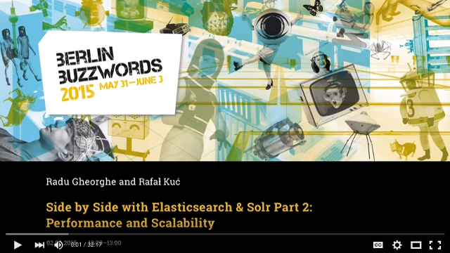 Side by Side with Elasticsearch Presentation