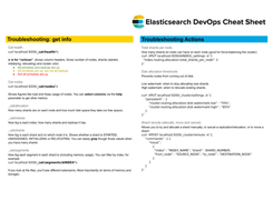 Elasticsearch Devops Cheat Sheet and Snippets