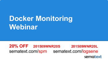 Docker Monitoring  Webinar