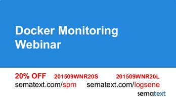 Docker Monitoring Webinar