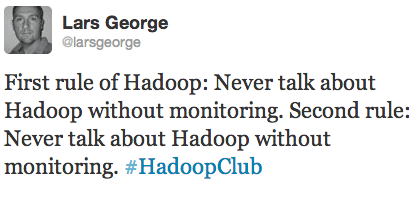 Hadoop Club Monitoring
