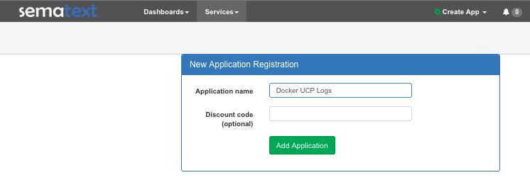 Docker UCP Logs