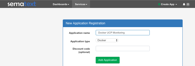 Docker UCP Monitoring
