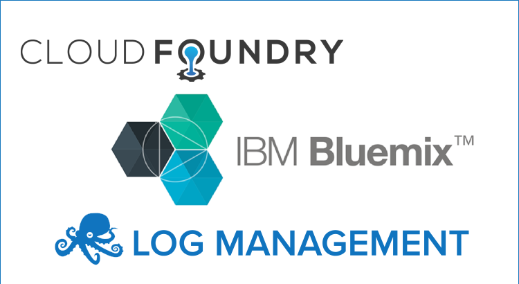 log management for IBM bluemix and Cloud foundry