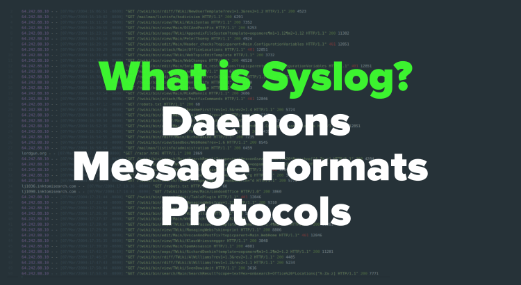 what is syslog