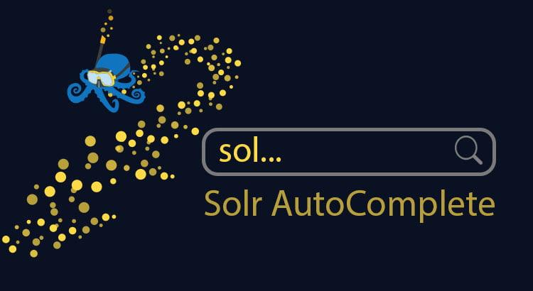 Sematext Solr Autocomplete