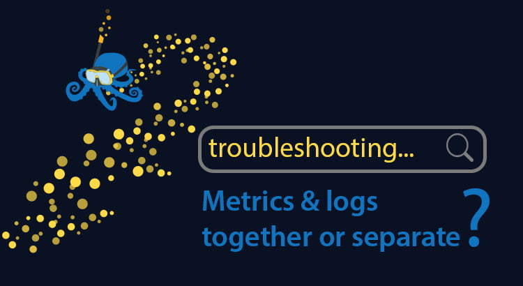 Sematext Metrics and logs together or separate