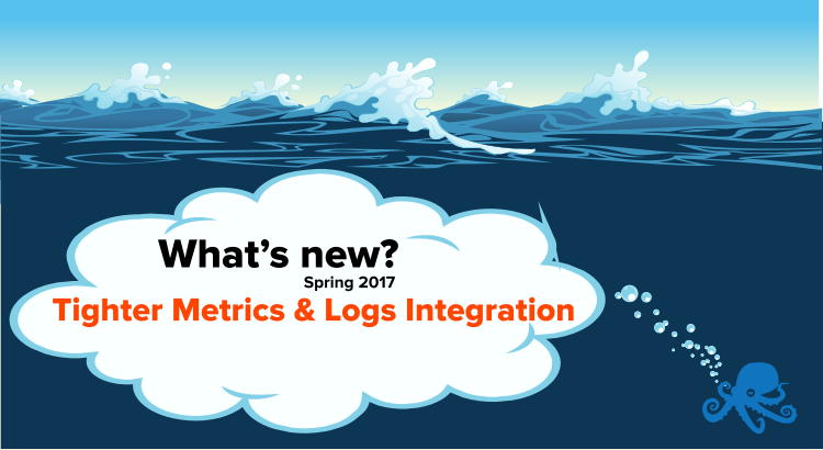 sematext tighter metrics and logs integration