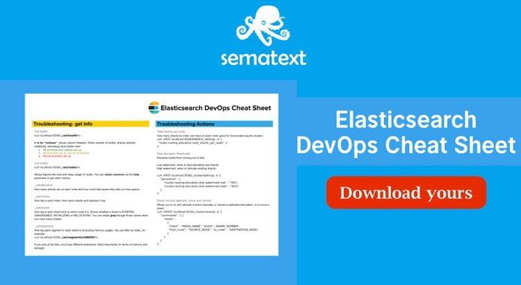 Elasticsearch devops cheatsheet sematext