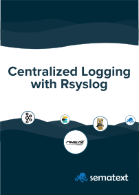 Centralized logging with rsyslog eBook cover