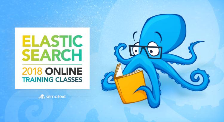 elasticsearch online training classes 2018 sematext