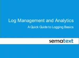 log management and analytics guide sematext