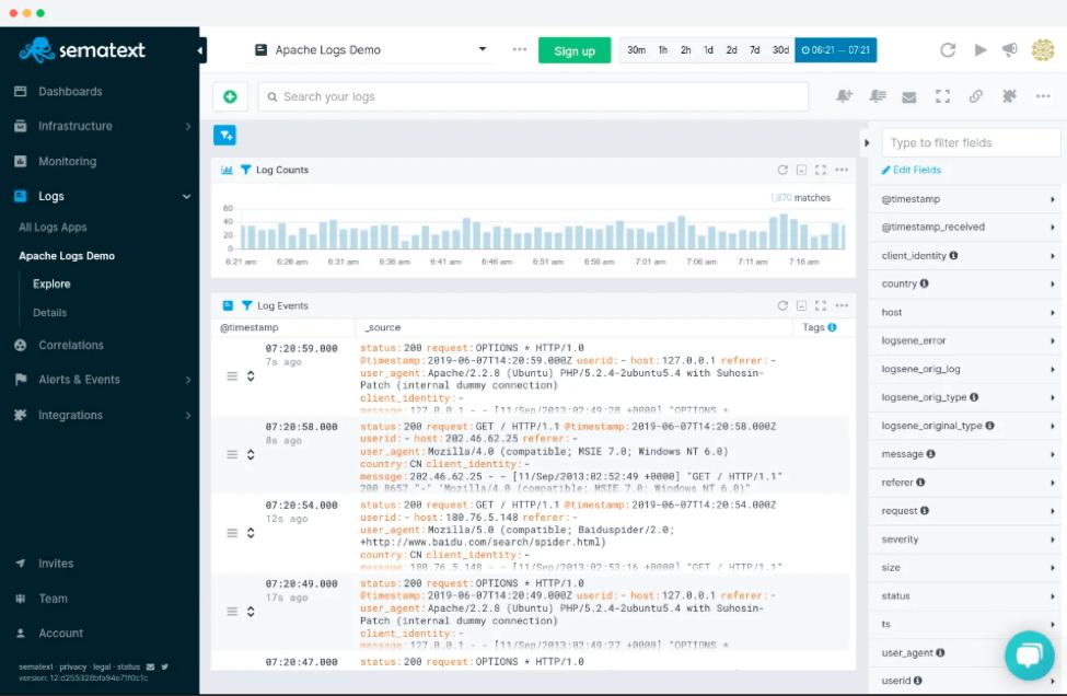 log management tool