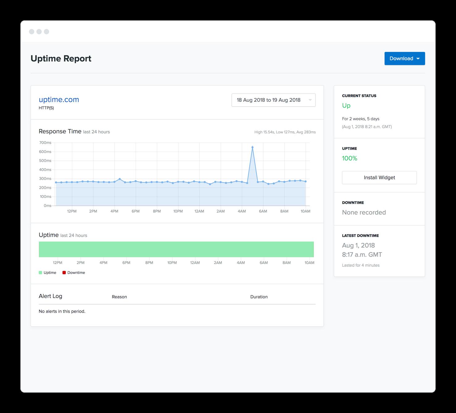best website monitoring service