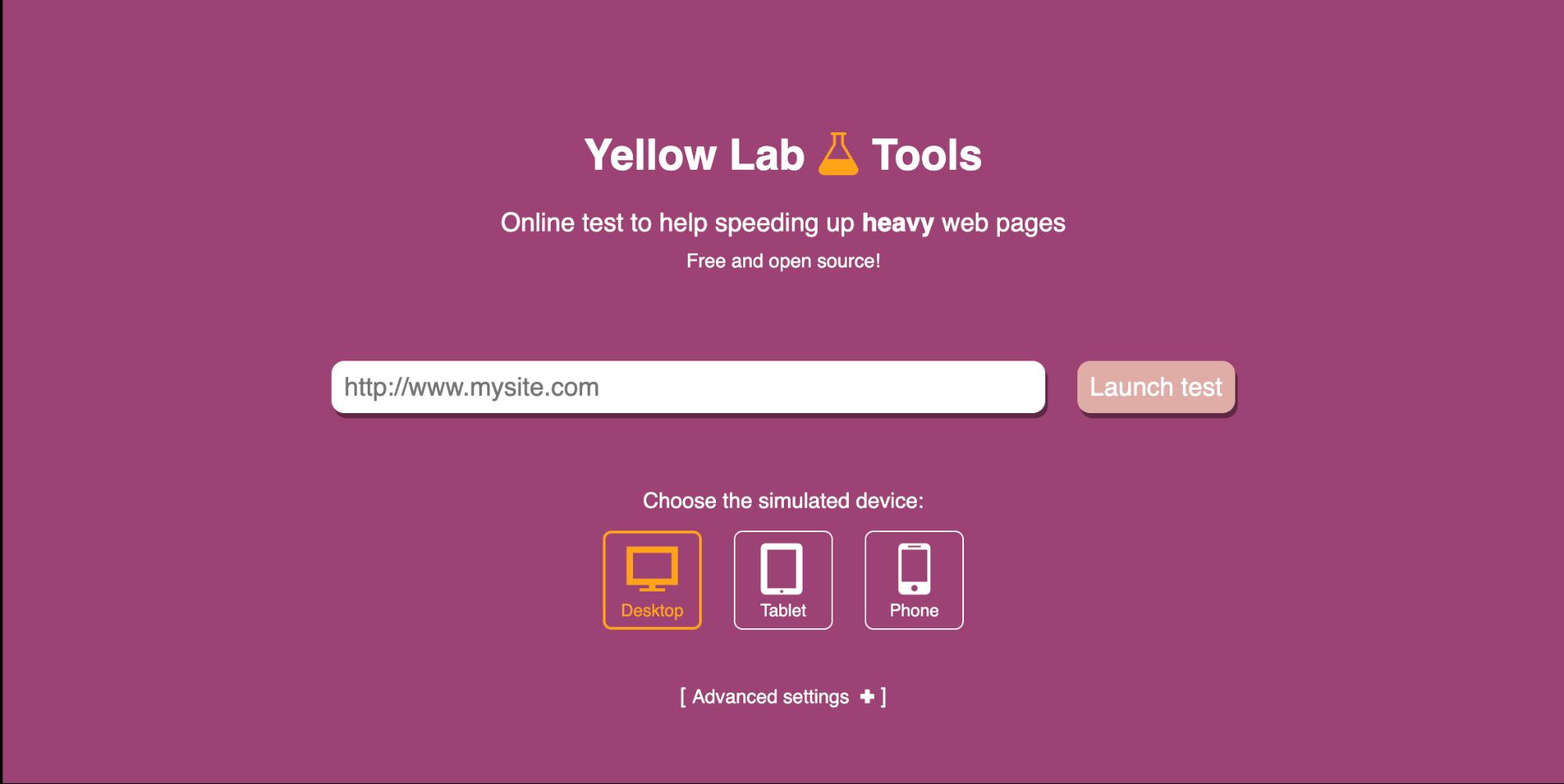 website speed optimization tools