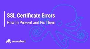 types ofr ssl errors