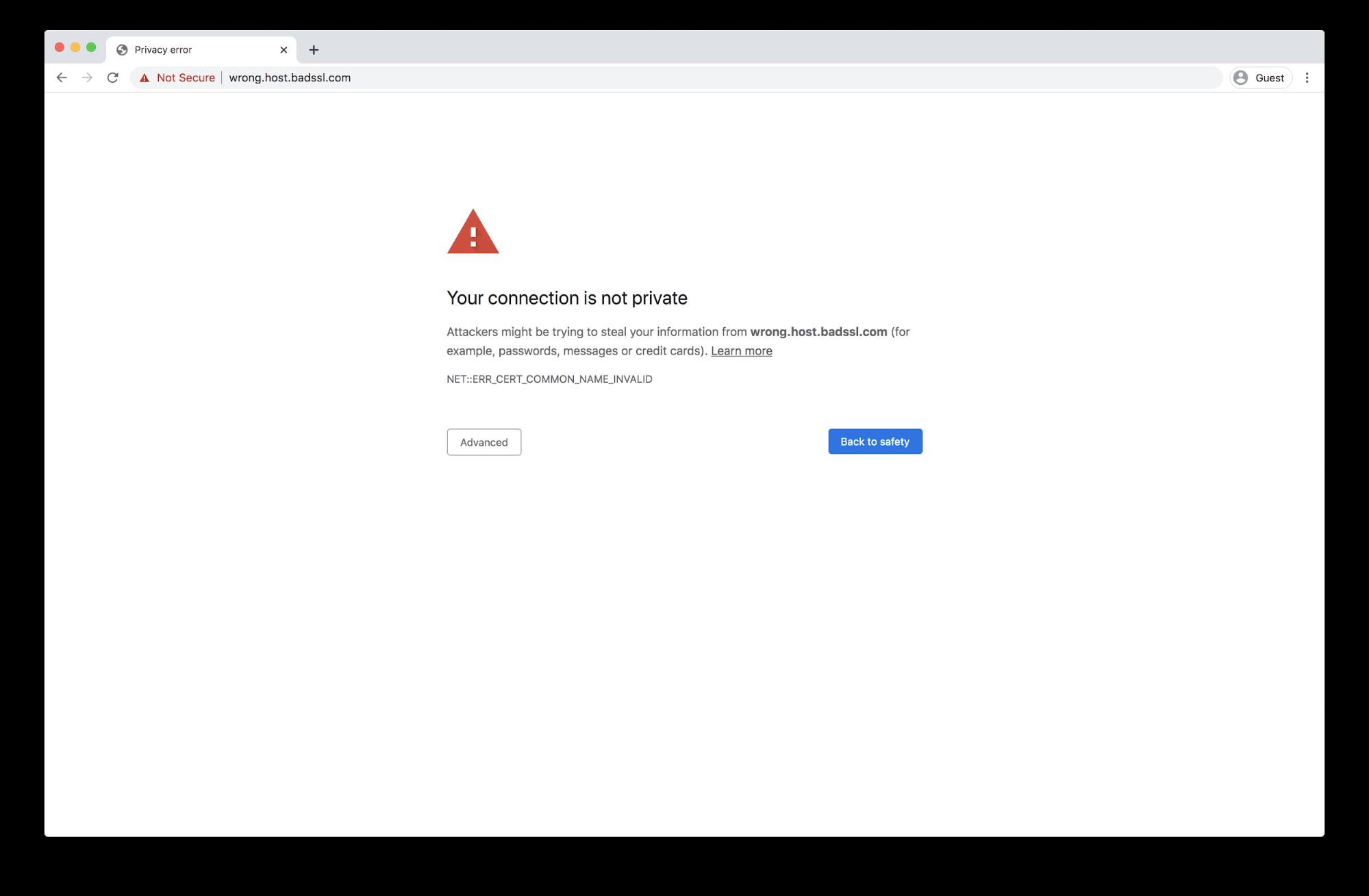 what is an ssl error
