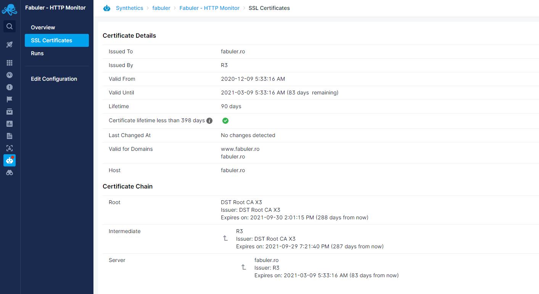 certificate monitoring tools