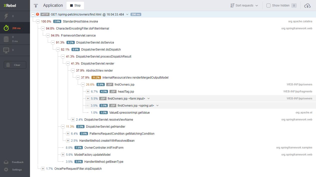 java application performance monitoring